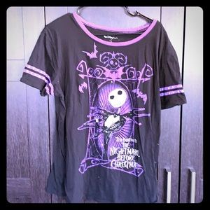 Disney parks jack skellington tee